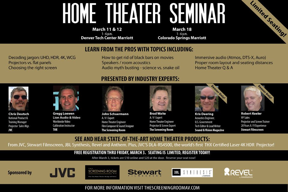 home theater seminars