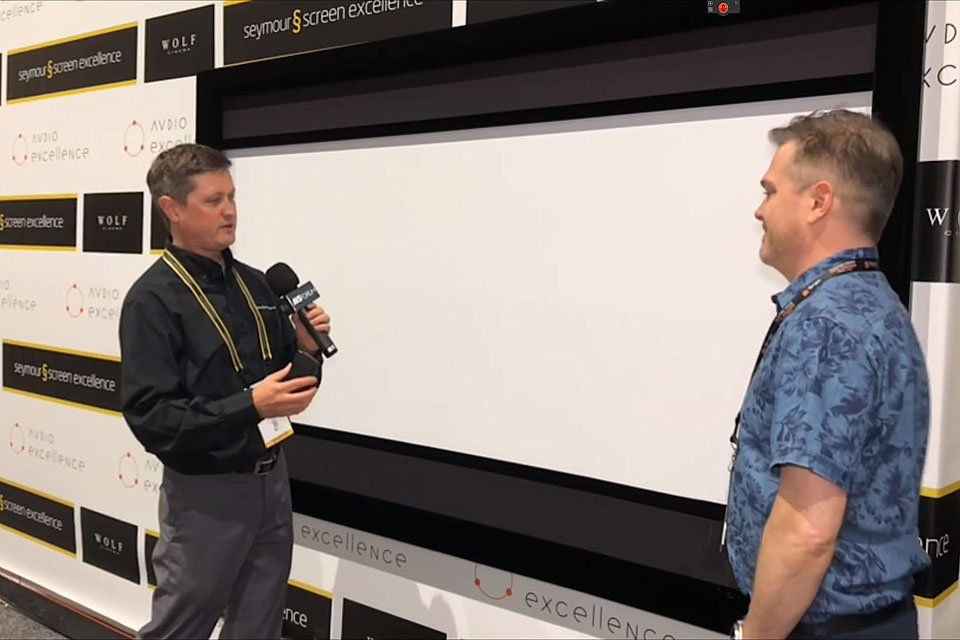 Seymour-Screen Excellence Trim Motorized Masking Screen – CEDIA 2018