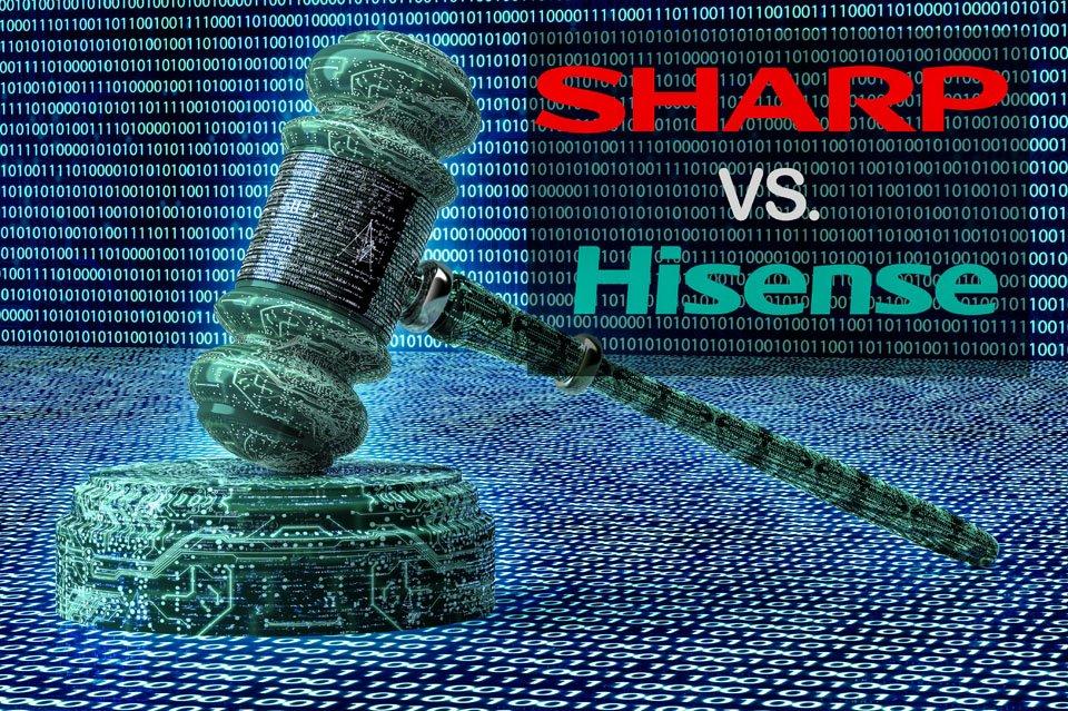 "Sharp Sues Hisense for U.S. Naming Rights, Cites ""Shoddily Manufactured"" TVs"