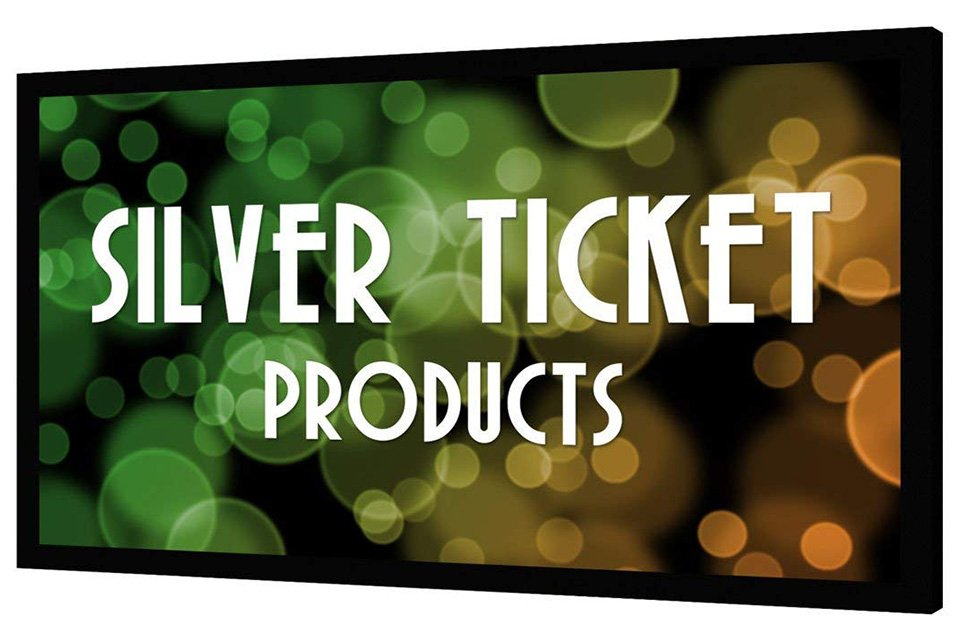 silver ticket 120 projector screen