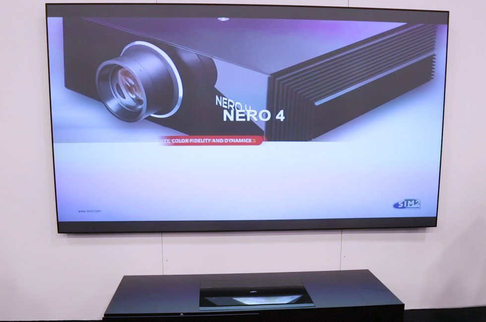 SIM2 Nero 4 & XTV Projectors at CEDIA 2016