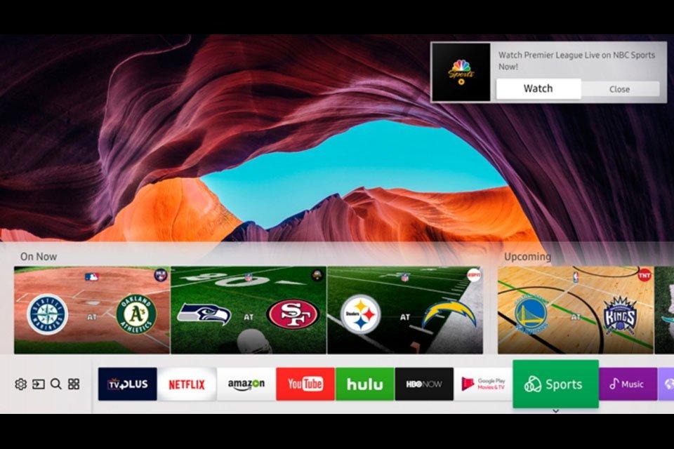 Samsung Smart TV Services CES 2017