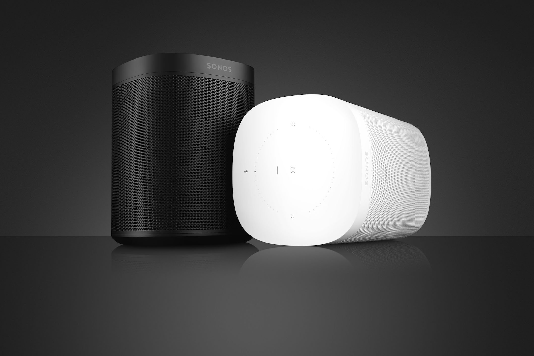 Sonos One Connected Smart Speaker with Amazon Alexa and Google Assistant