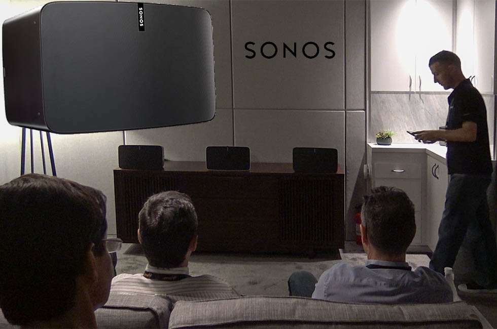 Sonos Play:5 Speaker Demo at CEDIA 2015