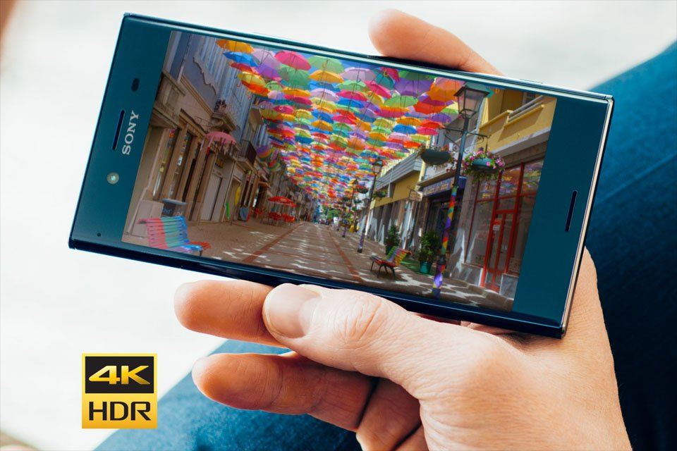 Sony Xperia XZ Premium Smartphone with HDR 4K Display