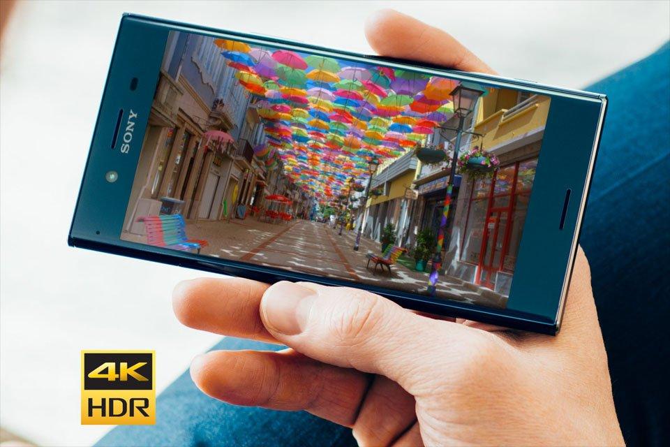 Sony Xperia XZ Premium Smartphone with HDR 4K Display