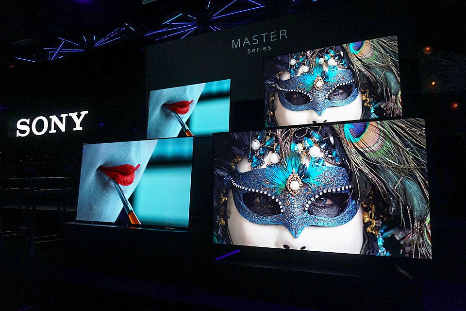 First Look: Sony A9F and Z9F Master Series 4K HDR TVs
