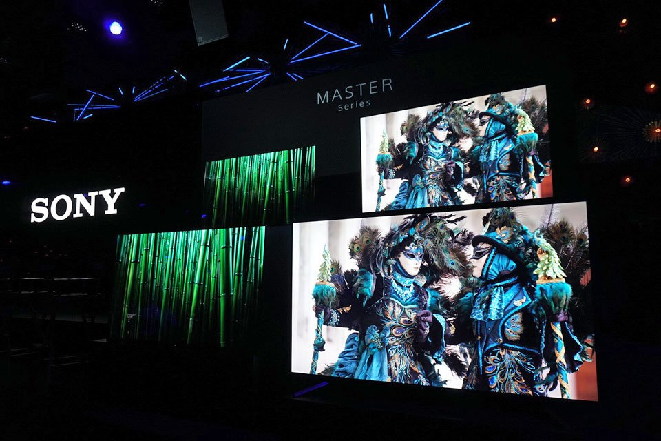 Prices Announced on New Sony Master Series TVs, Pre-Orders Begin
