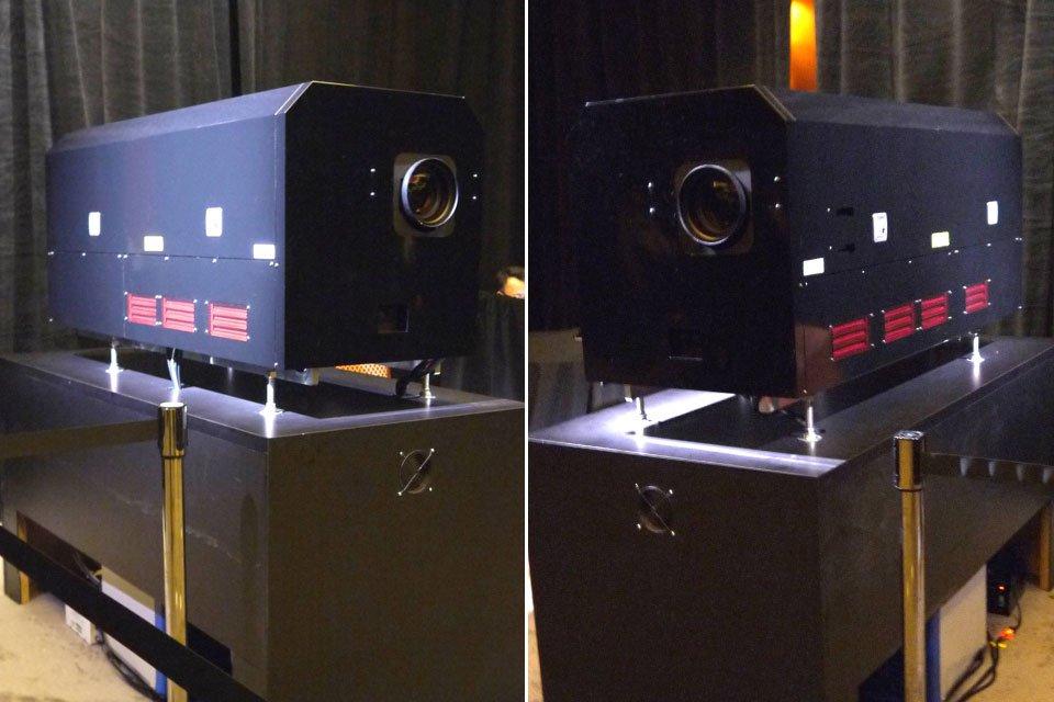rgb laser projector