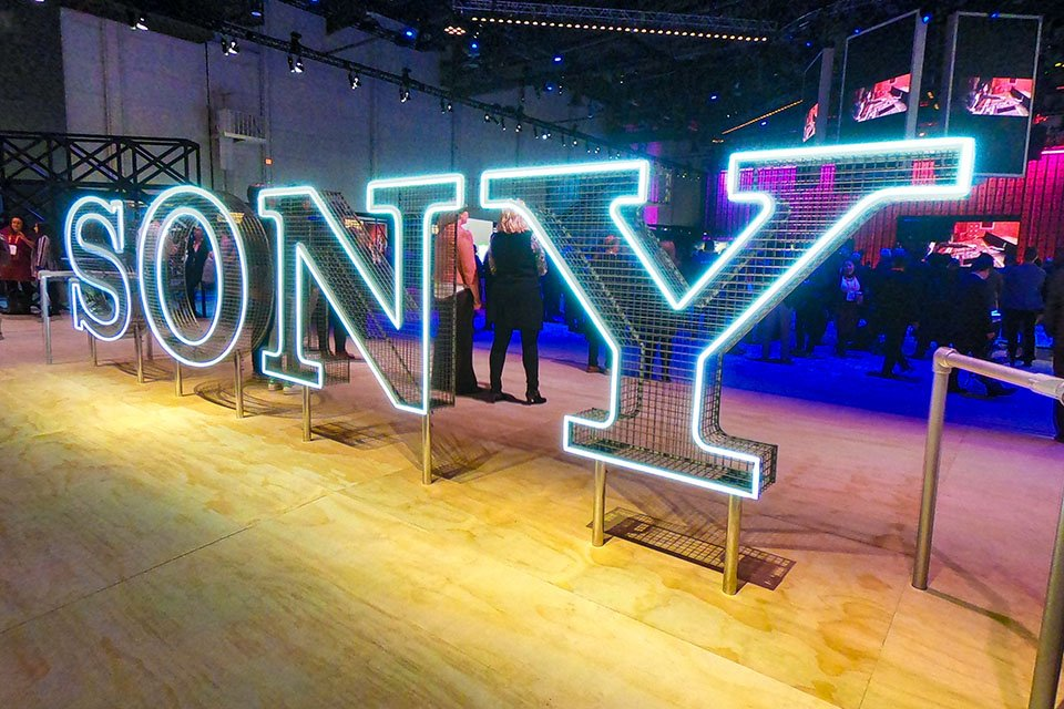 Sony X950G at CES 2019