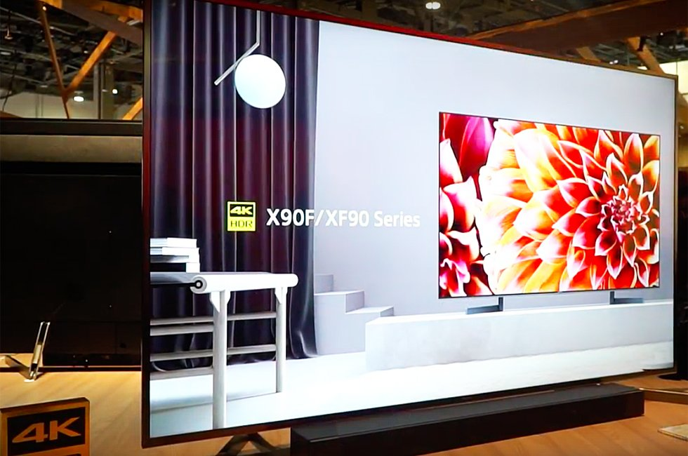 Sony X1 Ultimate Processor, X900F LCD, A8F OLED & 10,000-Nit Display
