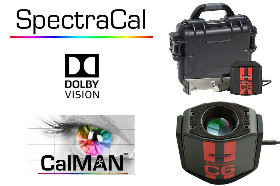 SpectraCal C6-HDR colorimeter for CalMan