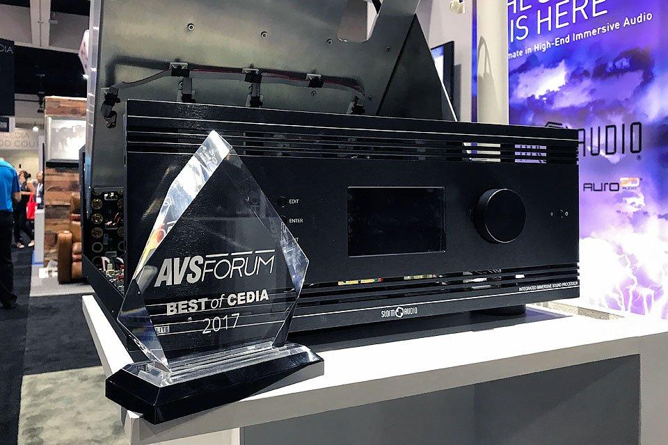 StormAudio I.ISP 3D.16.12 Integrated AV Processor at CEDIA 2017