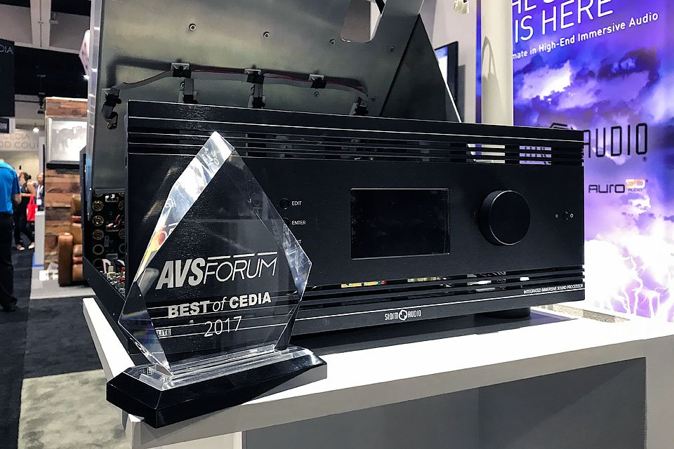 StormAudio ISP Series AV Processors at CEDIA 2017