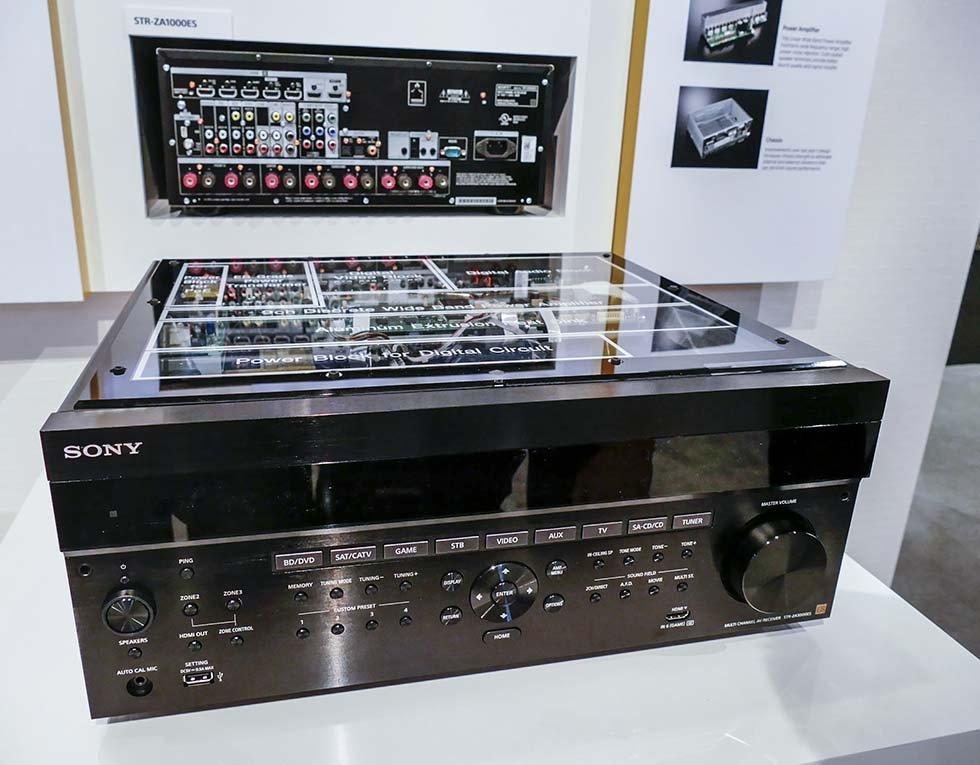 Sony Debuts STR-ZA5000ES AVR with Dolby Atmos at CEDIA 2015