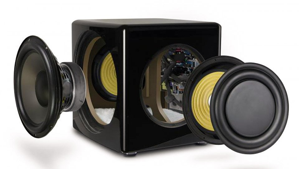 PSB SubSeries 450 Subwoofer Exploded View