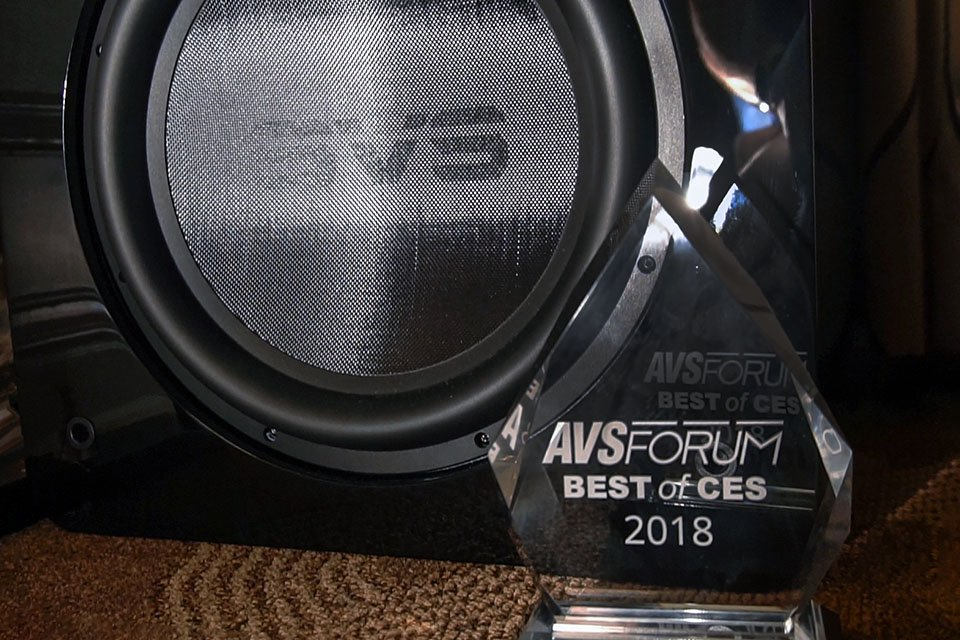 SVS 4000 Series Subwoofers Best of CES 2018