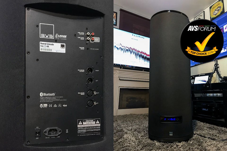 Review: SVS PC-4000 13.5″ Cylindrical Subwoofer