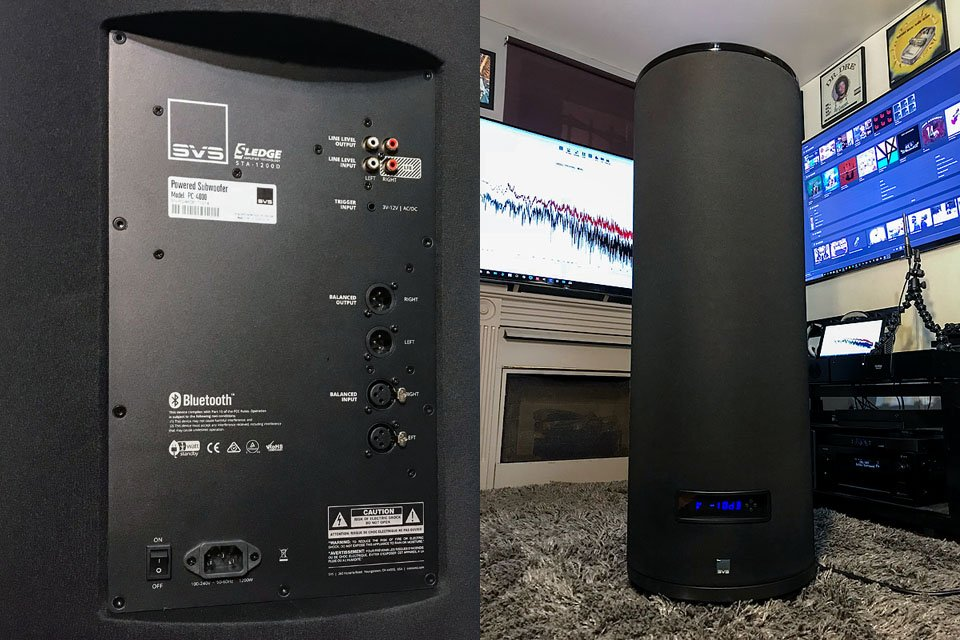 First Look: SVS PC-4000 13.5″ DSP Ported Cylinder Sub