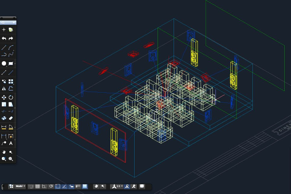 The Cinema Designer is a subscription cloud-based design tool that generates technically accurate home theater designs using software that incorporates the ... & The Cinema Designer Software Now Supports Up To 32 Channels ...