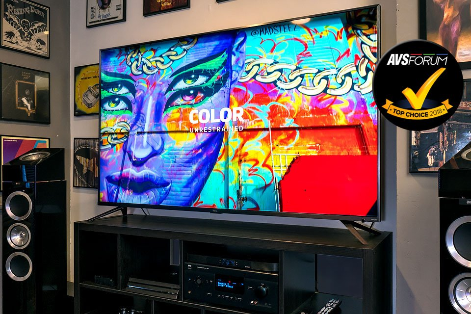 TCL 6 Series TV with Dolby Vision AVS Forum Top Choice 2018