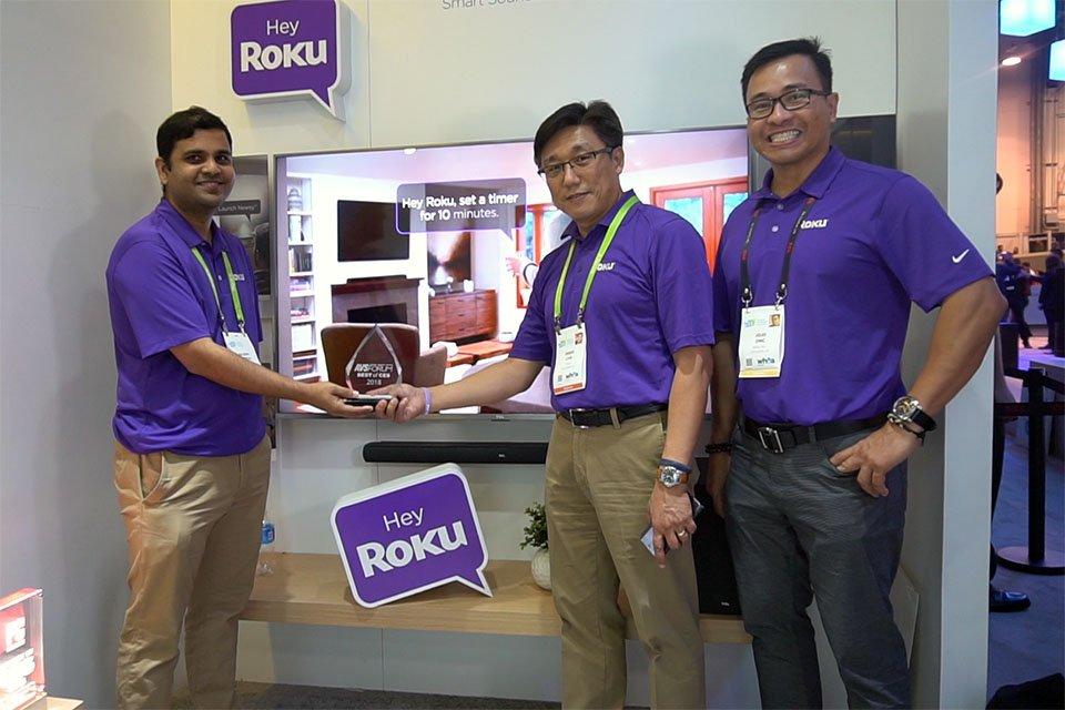 TCL Roku Smart Soundbar at CES 2018