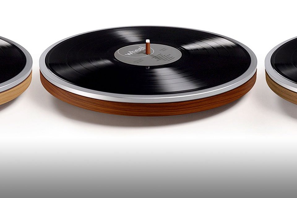 Wheel by Miniot Inverted Turntable Debuts on Kickstarter