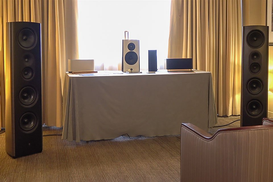 Thiel 40.3 Reference Speakers and Aurora LifeStream DTS Play-Fi Speakers