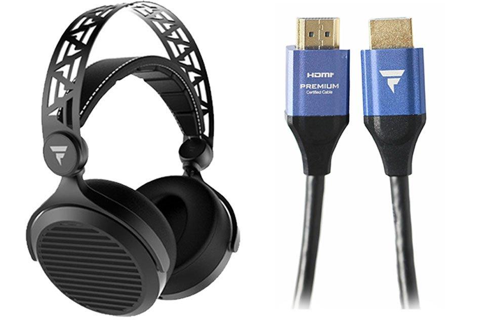 Tidal Force Debut: Premium HDMI Cables & Wave 5 Planar-Magnetic Headphones