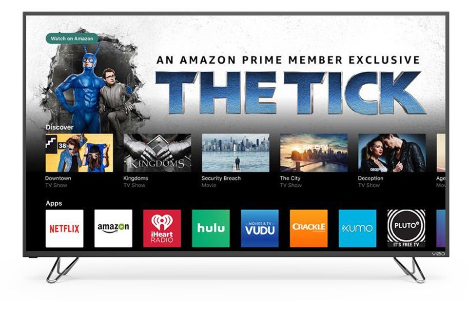 Vizio Adds Amazon Prime Video to SmartCast