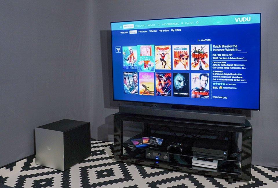 Vizio P65 Quantum TV & 46