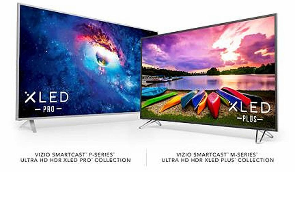 Vizio 2017 M-Series and P-Series XLED UHD Displays