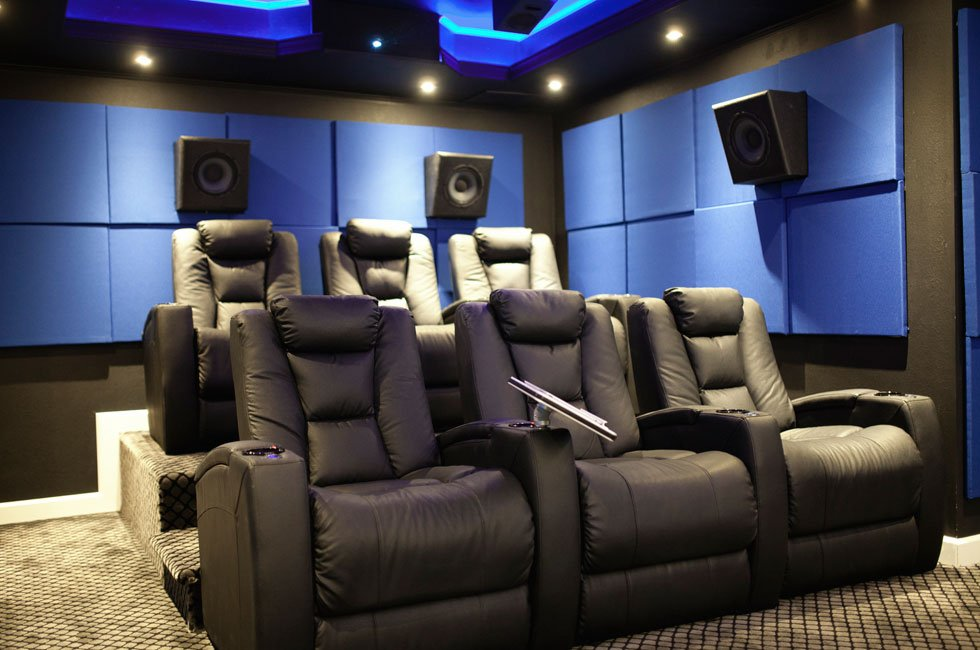 Home Theater of the Month: The Vortex Theater