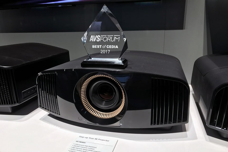 Sony VPL-VW285ES and VW385ES 4K HDR Projectors at CEDIA 2017