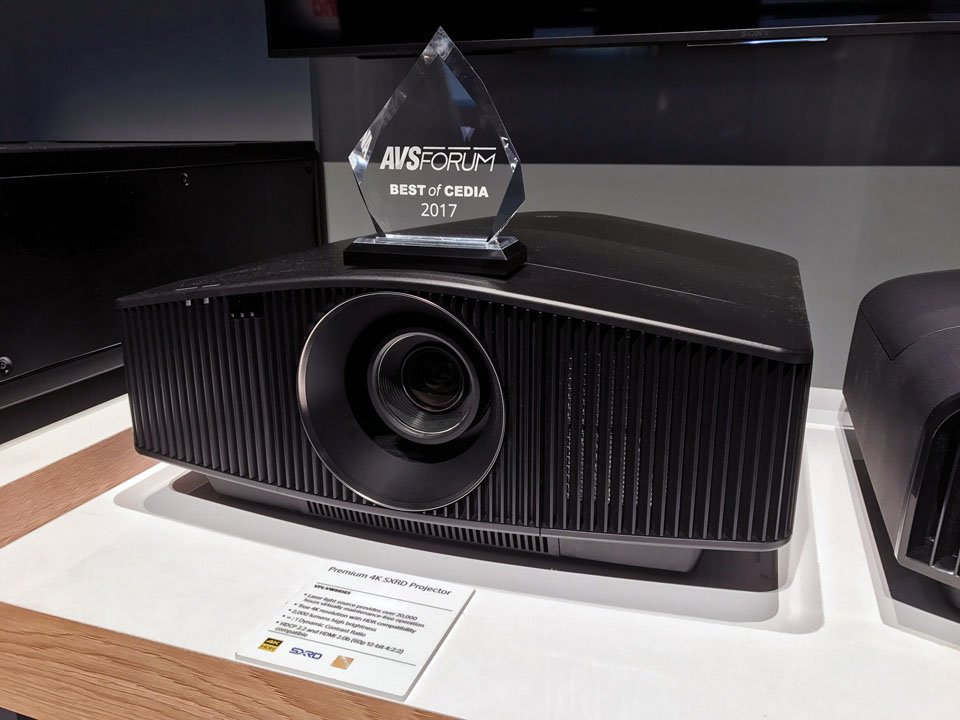 Sony VPL-VW885ES 4K HDR Laser Projector at CEDIA 2017