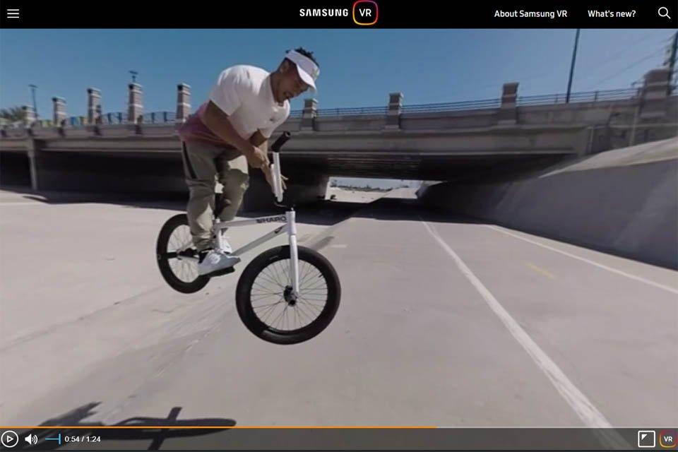 ESPN X Games on Samsung Gear VR