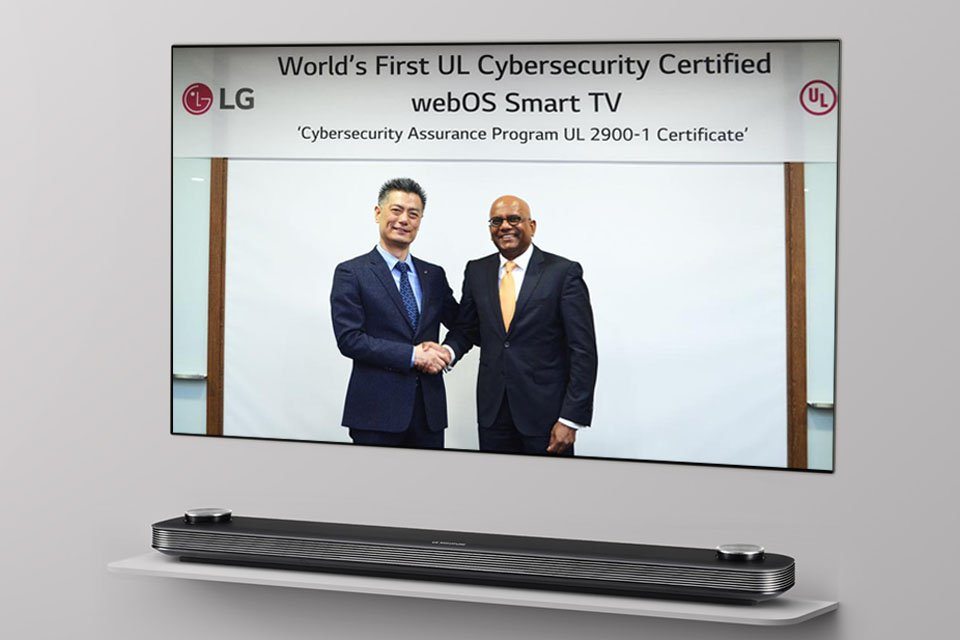 LG webOS 3.5 UL Cybersecurity Certification