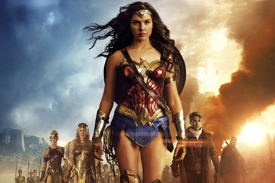 Wonder Woman in Dolby Vision HDR and Atmos Sound