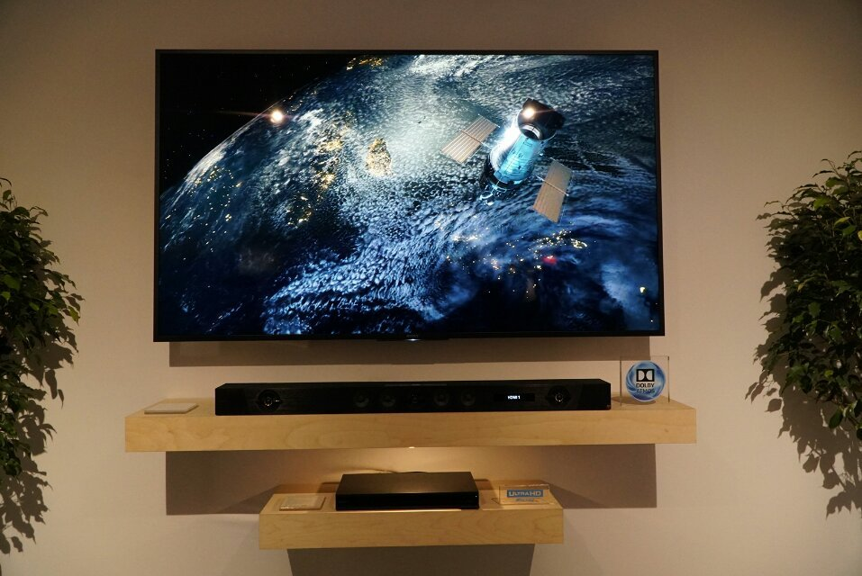 Best of CES: Sony HT-ST5000 Dolby Atmos Soundbar Demo - AVSForum com