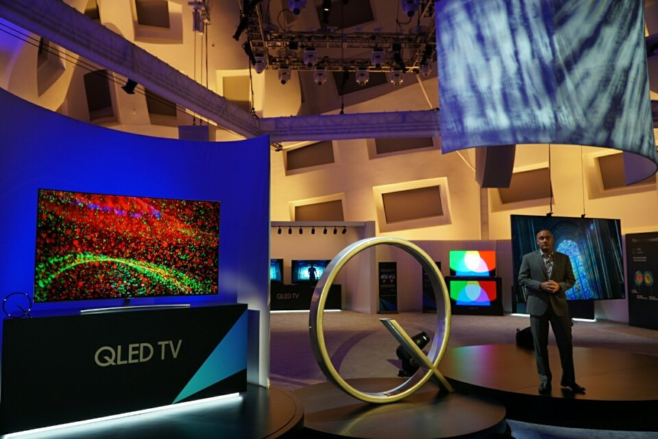 Samsung QLED Q9, Q8, and Q7 Quantum Dot TVs Announced at CES 2017