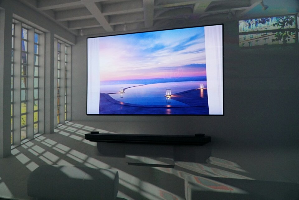 LG Signature OLED TV W Dolby Atmos Demo