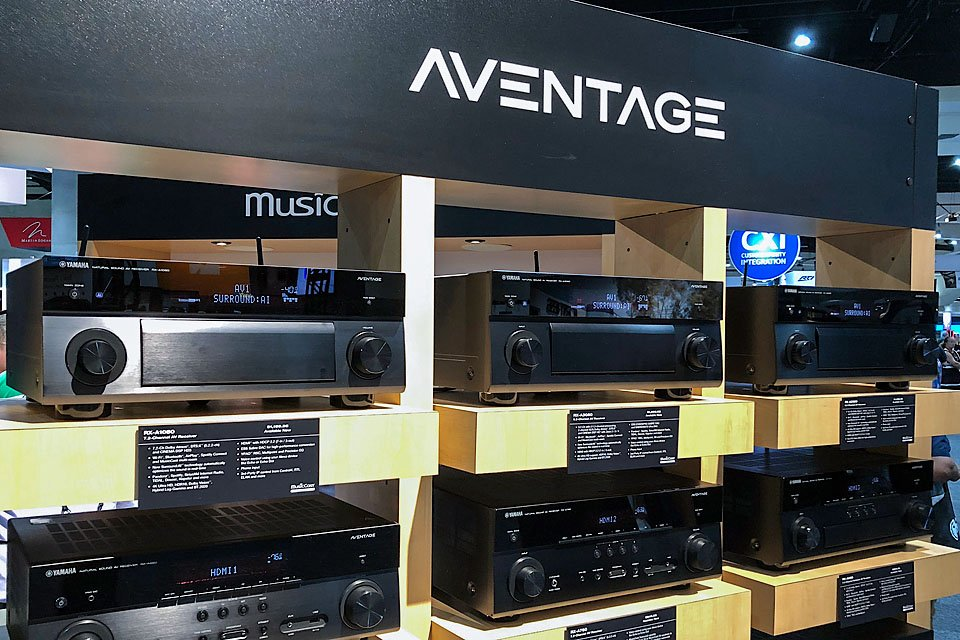 Yamaha Aventage AVRs with AI Surround – CEDIA 2018