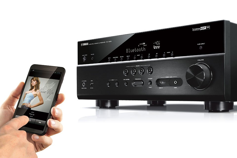 Yamaha Announces Four RX-V 83 Series AV Receivers with Dolby Vision