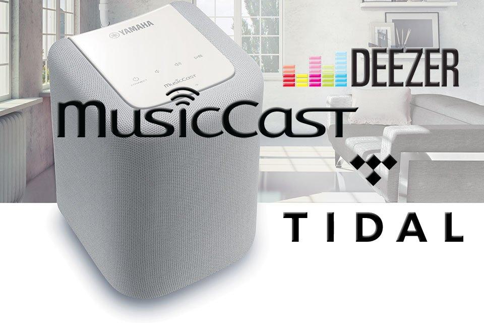 Yamaha MusicCast Tidal and Deezer