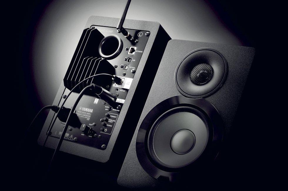 Yamaha NX-N500 speaker image - front back