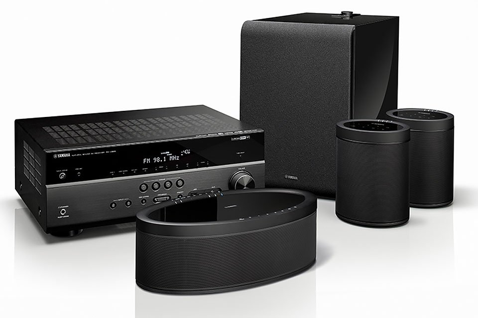 Yamaha Debuts AVRs & MusicCast Speakers, Sub for Wireless Surround