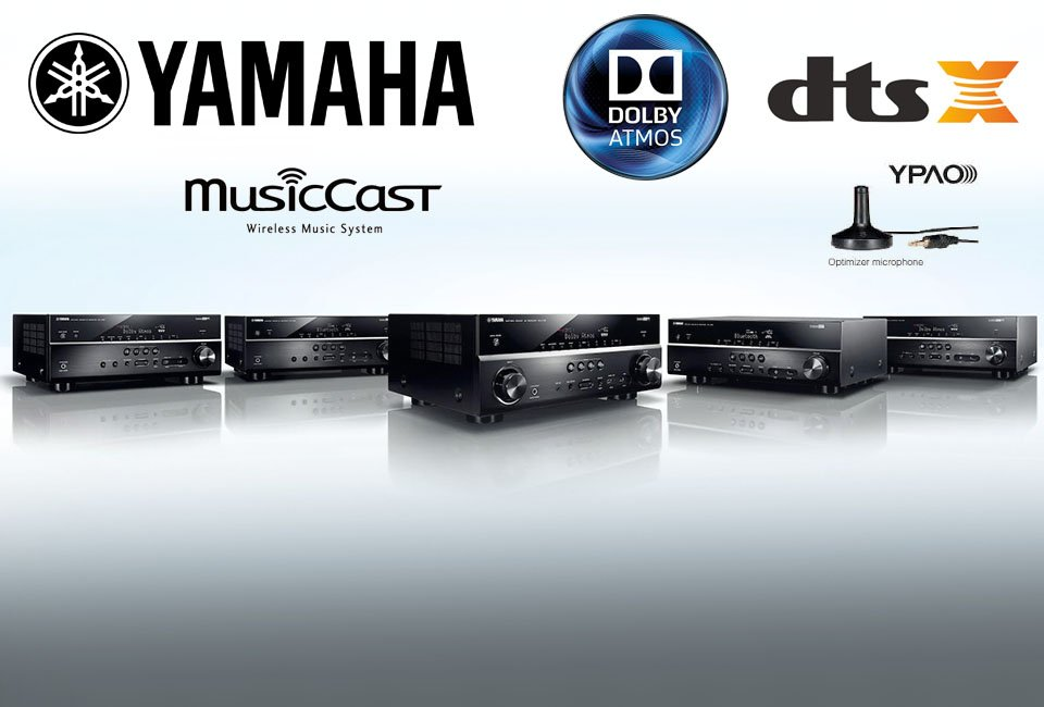 Yamaha Announces Four New RX-V 81 Series Receivers