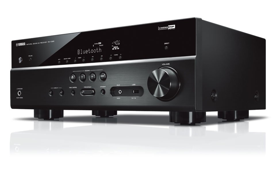 Yamaha RX-V385 AV Receiver Implements HDMI 2.1