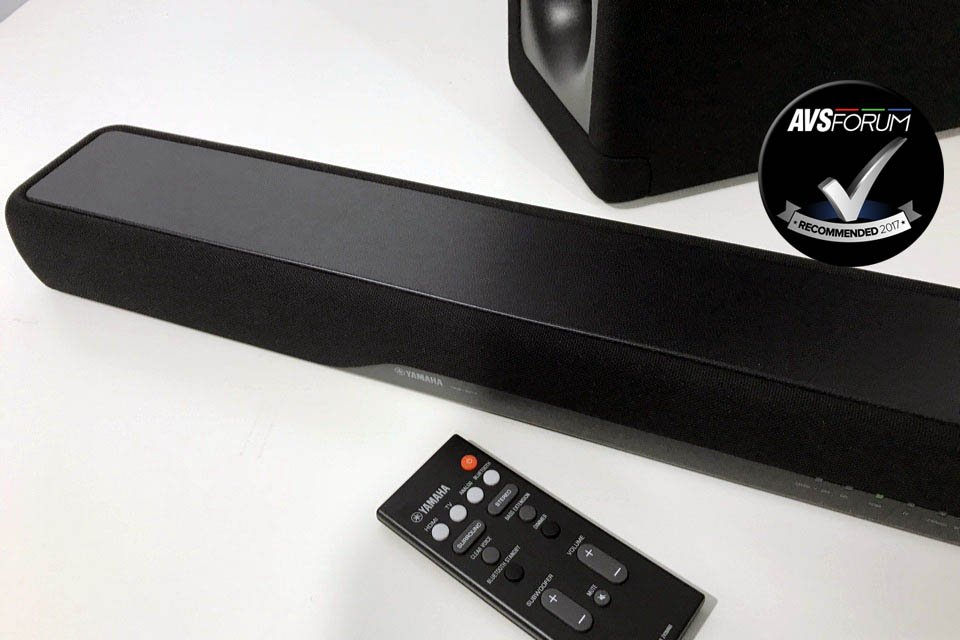 Yamaha YAS-207 DTS Virtual X Soundbar