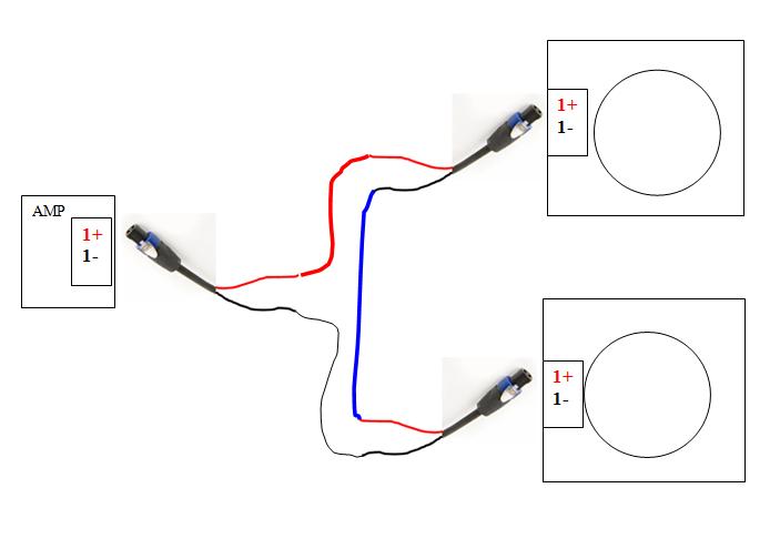 speakon wiring diagram questions  avs forum